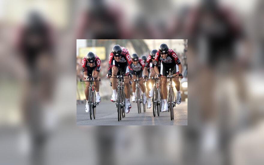 Danijos CSC dviratininkų komanda