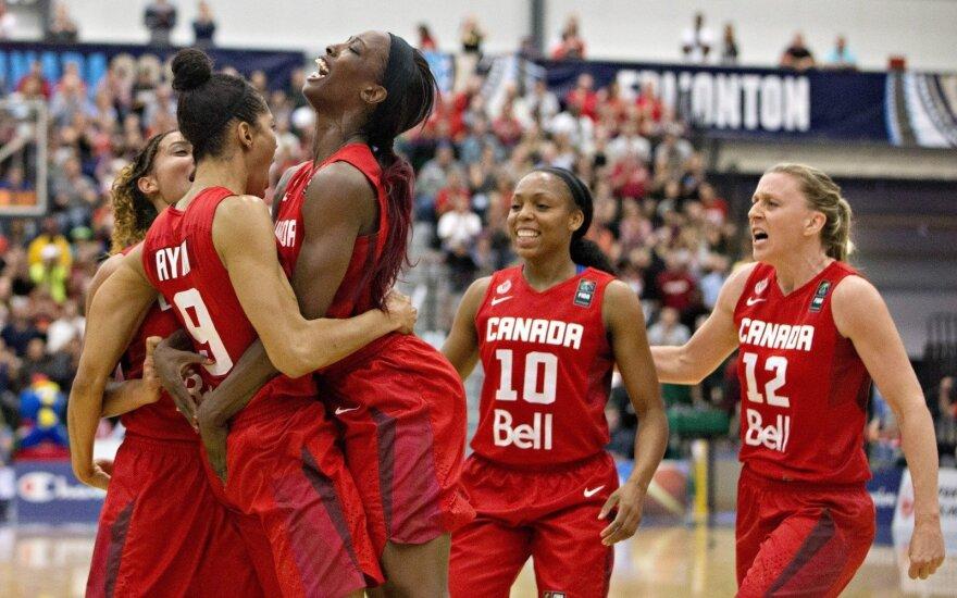 Kanados moterų krepšinio rinktinė