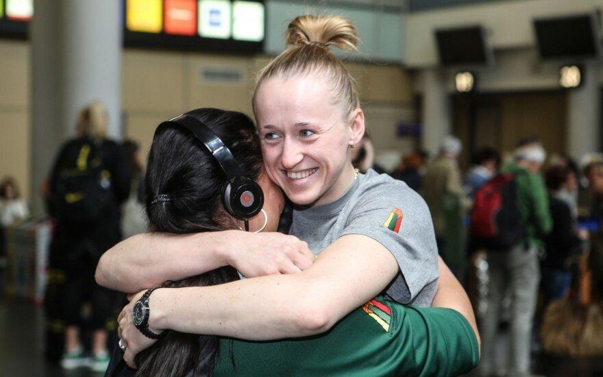 Lietuvos moterų krepšinio rinktinė išvyksta į Europos čempionatą