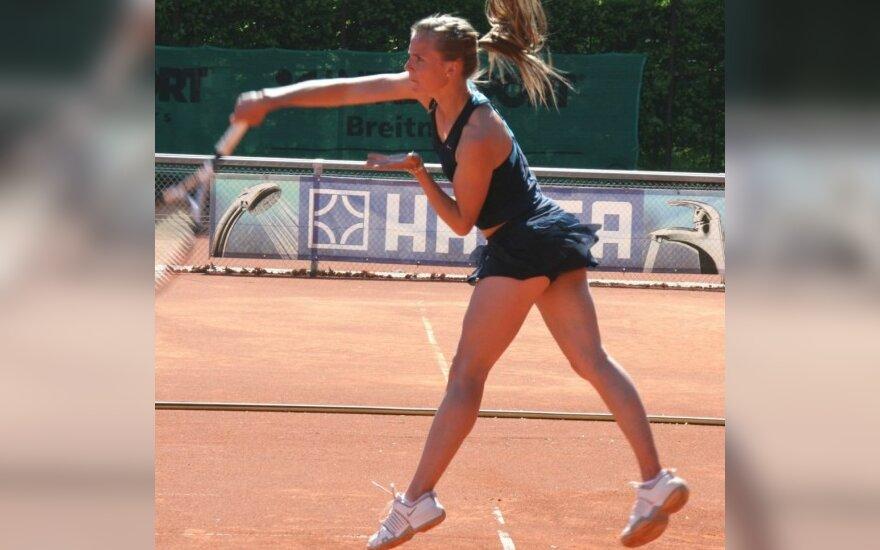 Geriausių pasaulio tenisininkių reitinge L.Stančiūtė nukrito į 275-ą vietą