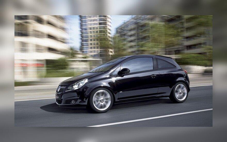 """""""Vauxhall Corsa"""" (asociatyvi nuotr.)"""
