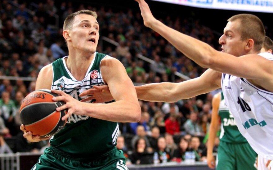 """""""Žalgirio"""" įspūdingas krepšinio spektaklis lėmė pirmą pergalę Eurolygoje"""