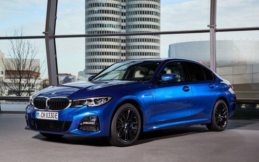 BMW elektrifikuoti modeliai