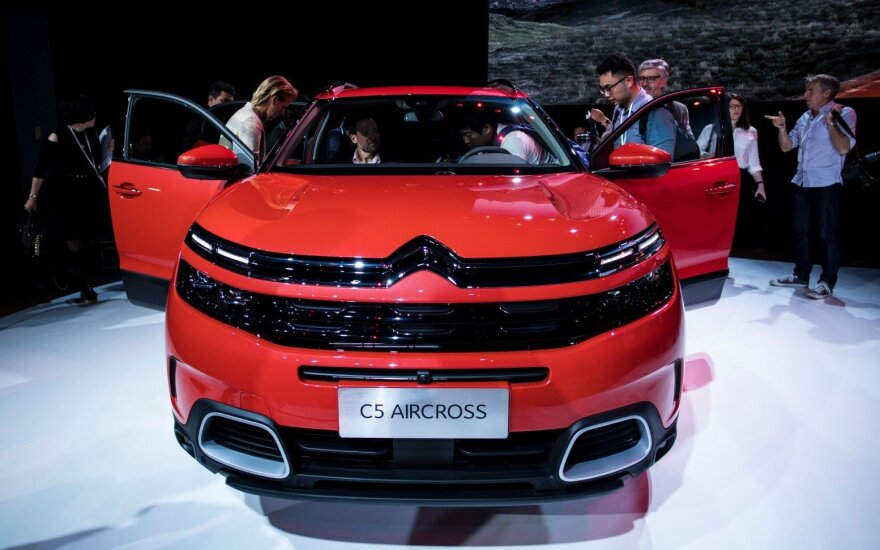 """Citroen C5 Aircross"" debiutas"