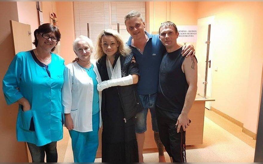 Rūta Lukoševičiūtė suslaužė ranką