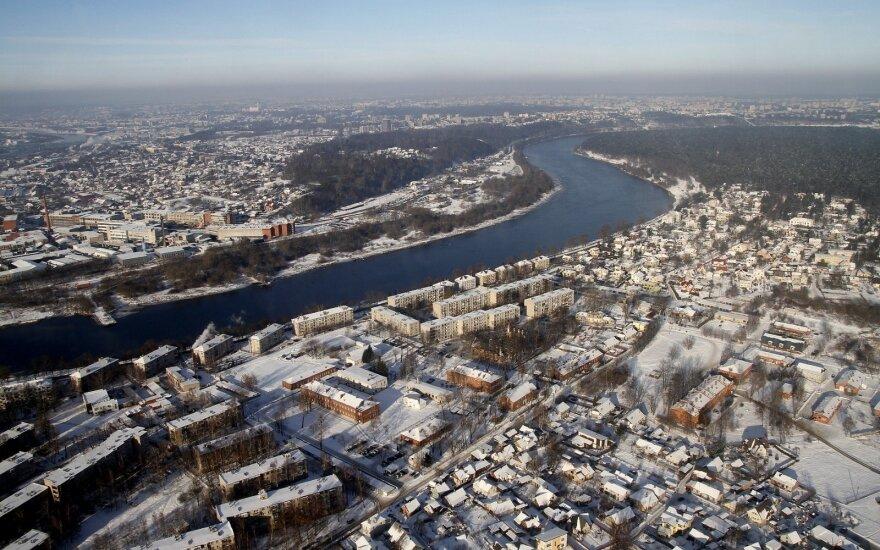 Apsnigtas Kaunas
