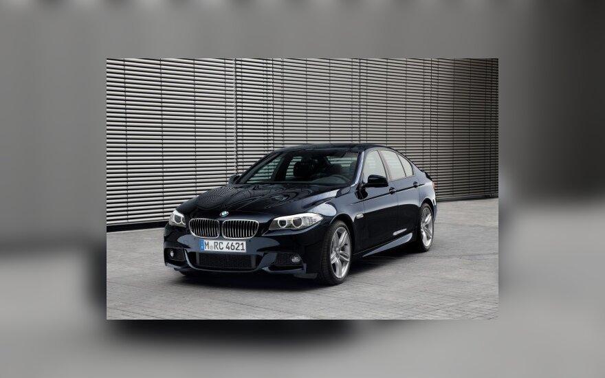 """BMW 5-os serijos """"M Sport"""" versija"""