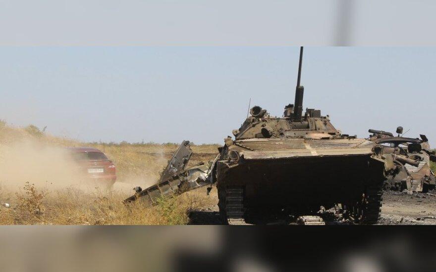 Ukraina: Rusijos kariai užėmė beveik visą pietinę Luhansko srities dalį