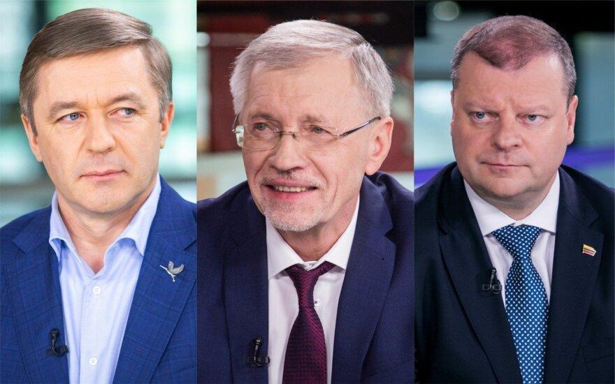 Kirkilas <em>patrolino</em> Skvernelį, Karbauskis – netiki: tai – <em>fake news</em>