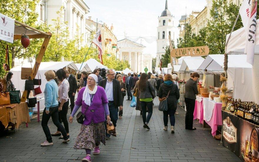 Vilniuje šurmuliuos Tautų mugė ir Derliaus šventė