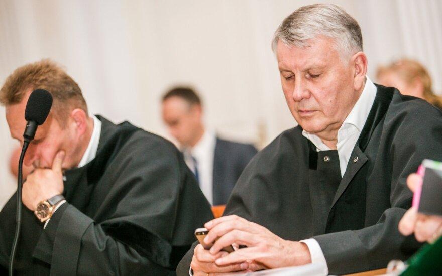 Drąsutis Zagreckas (dešinėje)