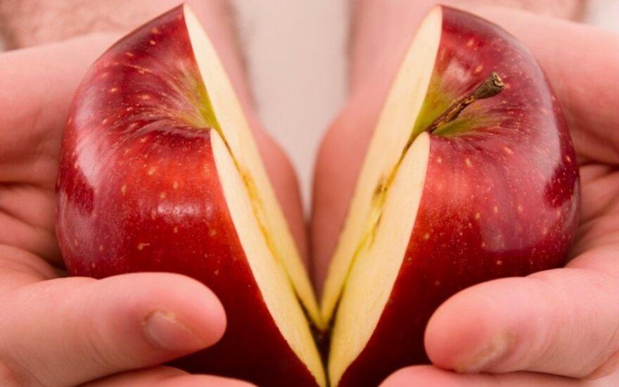 Medžiagos, žudančios vitaminus arba kodėl perpjautą obuolį reikia suvalgyti iškart