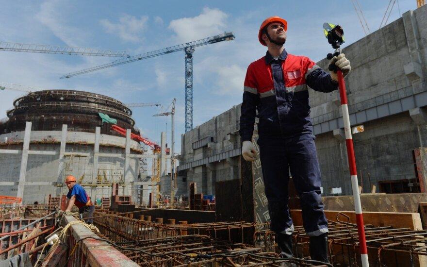 """Baltarusija: Astravo jėgainės pirmasis reaktorius bus """"fiziškai"""" įjungtas ateinantį kovą"""
