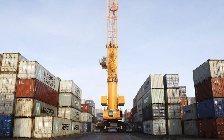 Klaipeda container terminal