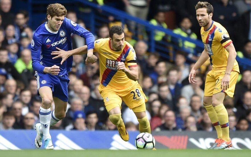 Premier lyga, Chelsea ir Crystal Palace mačo akimirka