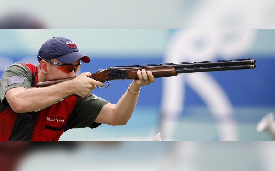 Šaudymo į skrendančius taikinius Europos taurę laimėjo R.Račinskas ir estas A.Kullis