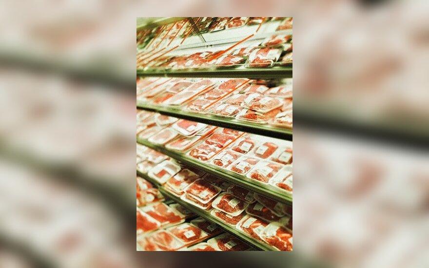 mėsa, parduotuvė