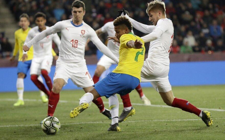 Brazilija - Čekija