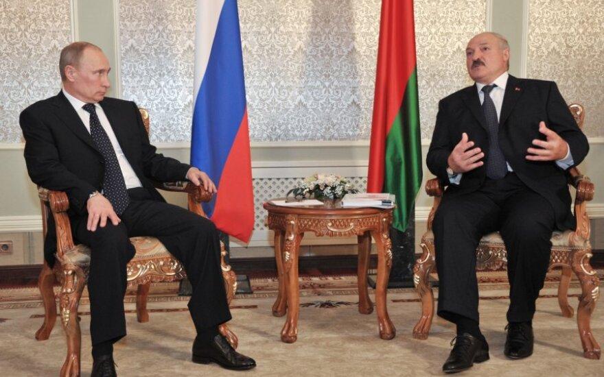 Vladimiras Putinas ir Aleksandras Lukašenka