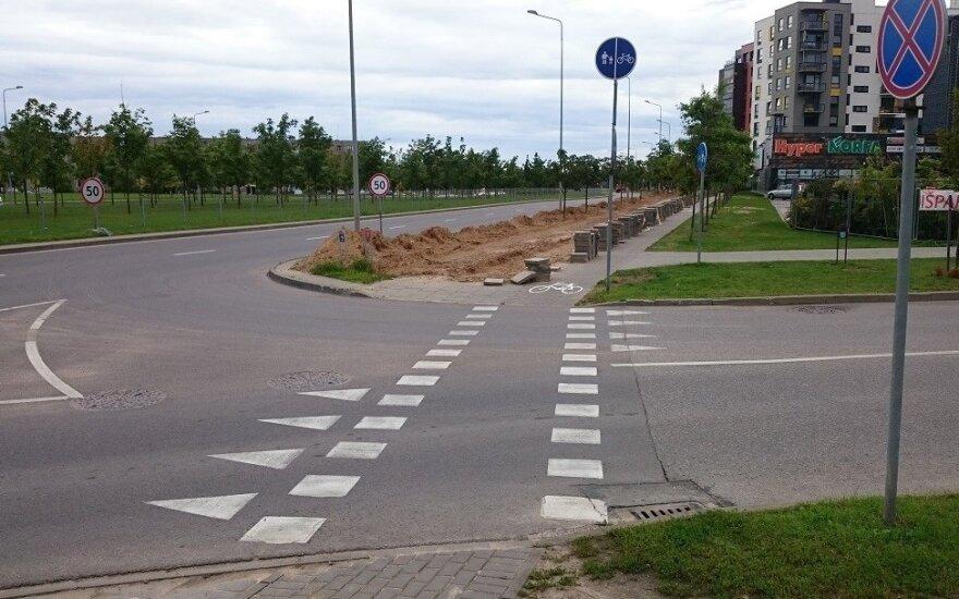 Sankryža su dviračių pervaža