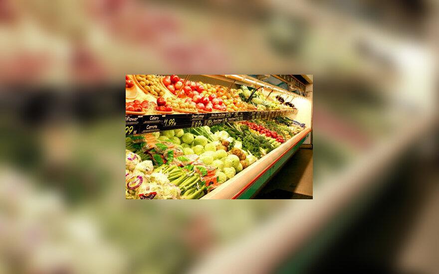 daržovės, parduotuvė