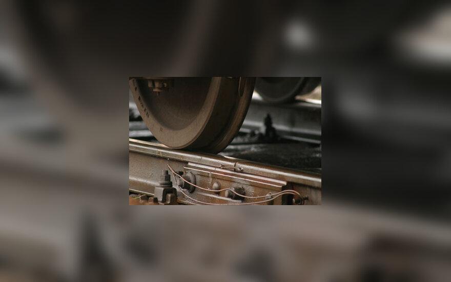 Geležinkelis, traukinys, bėgiai