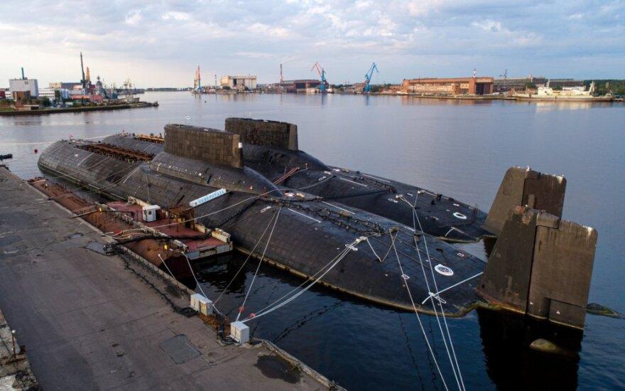 Povandeniniai laivai Severodvinsko uoste