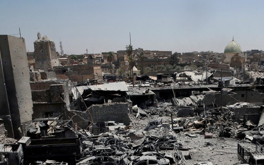 """JAV kariuomenės vadas: Irakas turi užkirsti kelią """"Islamo valstybės"""" atsigavimui"""