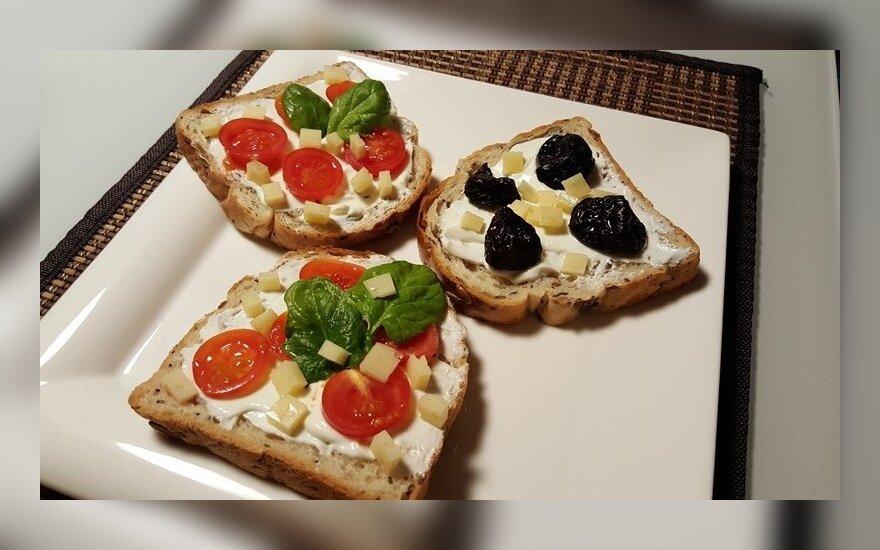 Paprastieji ir skanieji sumuštiniai