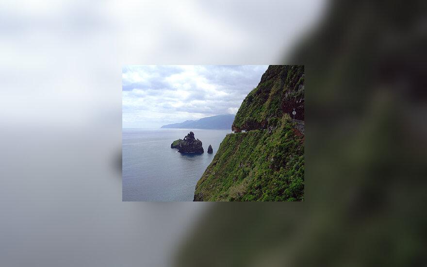 Madeira, kalnų keliukai