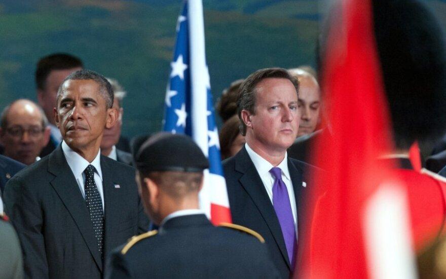 Barackas Obama, Davidas Cameronas