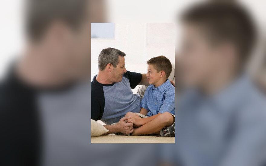 Tėvas ir sūnus, bendravimas