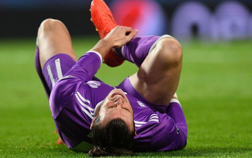 """Smūgis """"Real"""" klubui – G. Bale'as patyrė sunkią traumą"""
