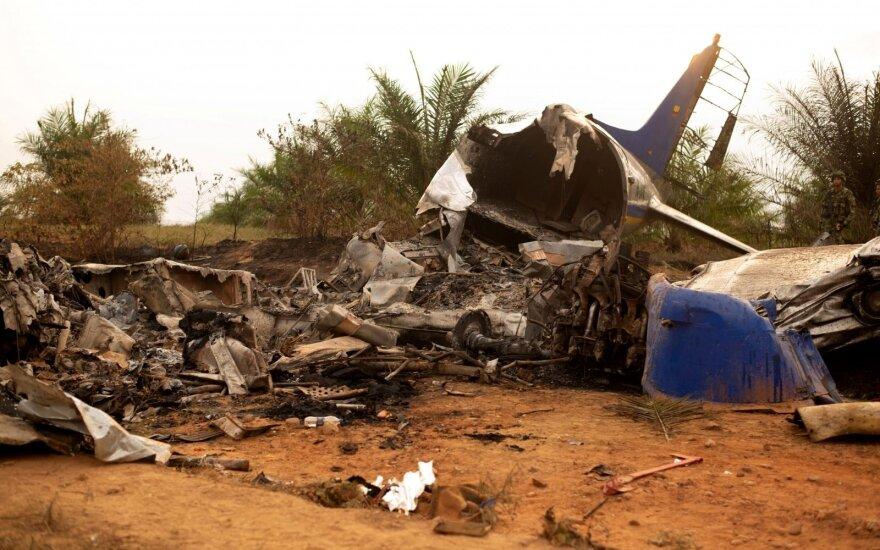 Kolumbijoje sudužo lėktuvas