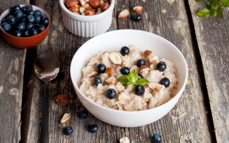Pusryčių patarimai lieknėjantiems