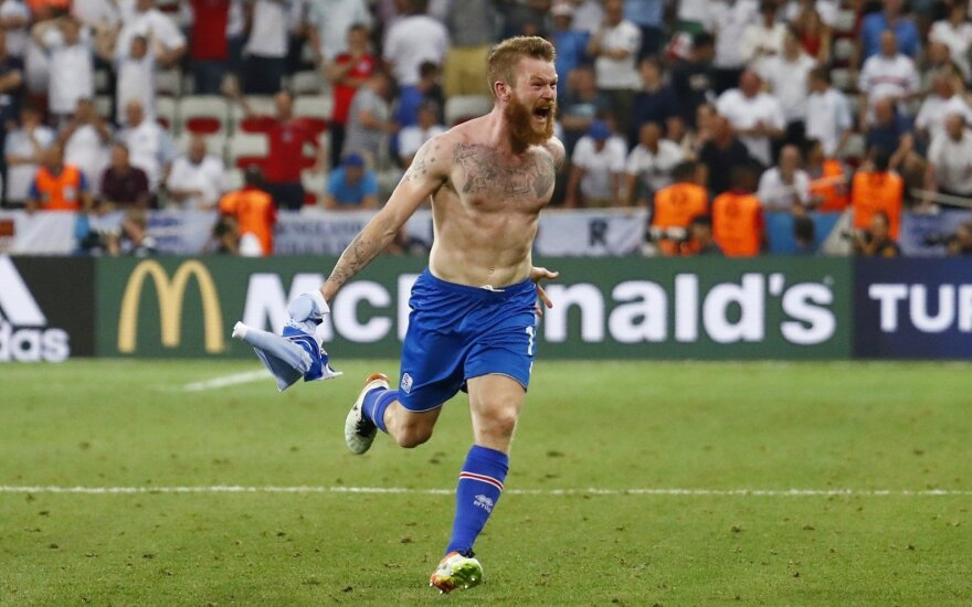 Iceland beat England in Euros