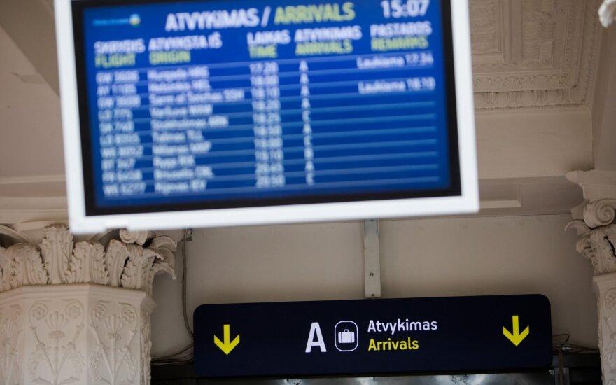 """""""Oro navigacija"""" apie augantį skrydžių skaičių: situacija dar nėra stabili"""