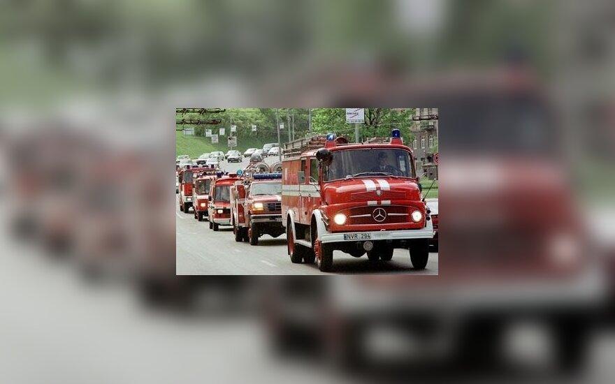 Pernai žuvusiųjų gaisruose – ketvirtadaliu mažiau