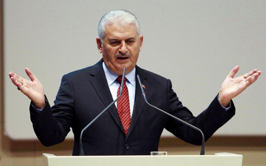 Penktadienį atsistatydins Turkijos parlamento pirmininkas