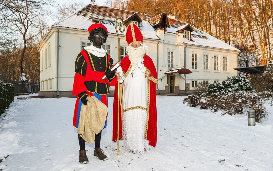 Sinterklaas at the Dutch Ambassador's Residence