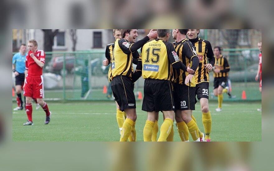 """""""Šiaulių"""" futbolininkai"""