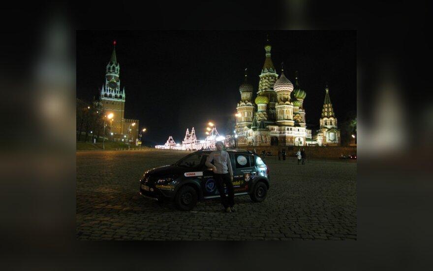 V.Milius kelionėje aplankė ir Maskvą