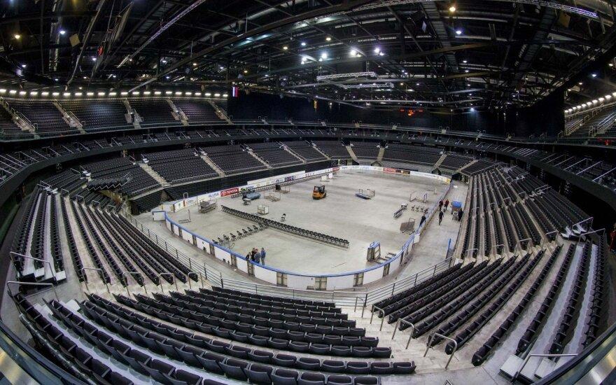 """""""Žalgirio"""" arenoje vyks ir pasaulio ledo ritulio čempionato ir Eurolygos rungtynės"""