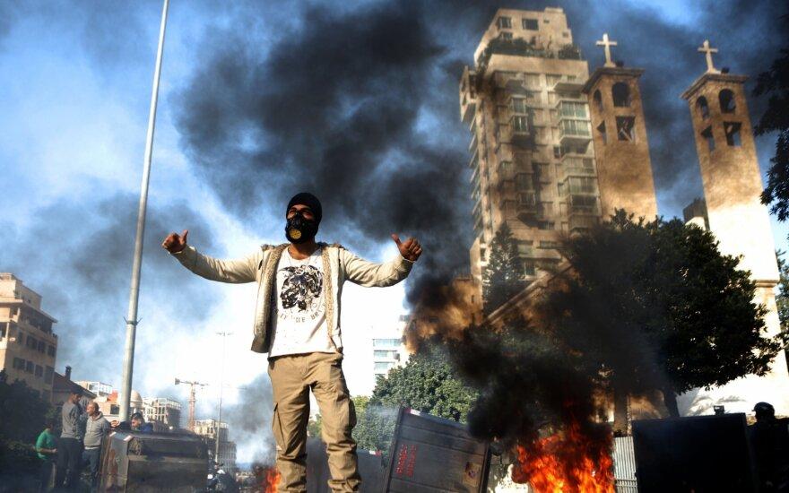 Libane atsinaujino protestai prieš politinį šalies elitą