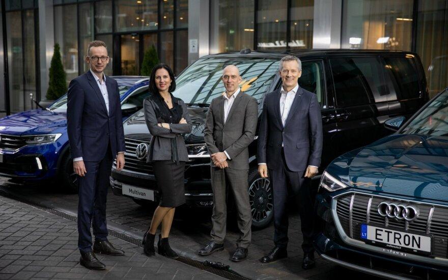 """Rekordiniai metai """"Volkswagen"""" ir """"Audi"""""""
