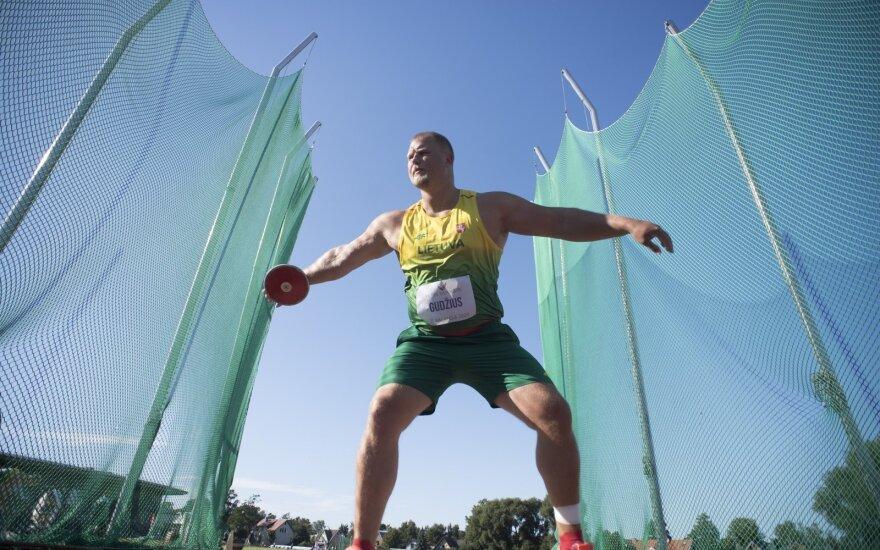 Lietuvos lengvosios atletikos čempionate – puikūs Gudžiaus ir Truskausko pasirodymai