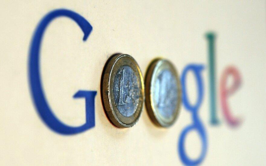 """""""Google"""" mokesčių susitarimas Airijoje gali sulaukti kruopštesnio ES patikrinimo"""