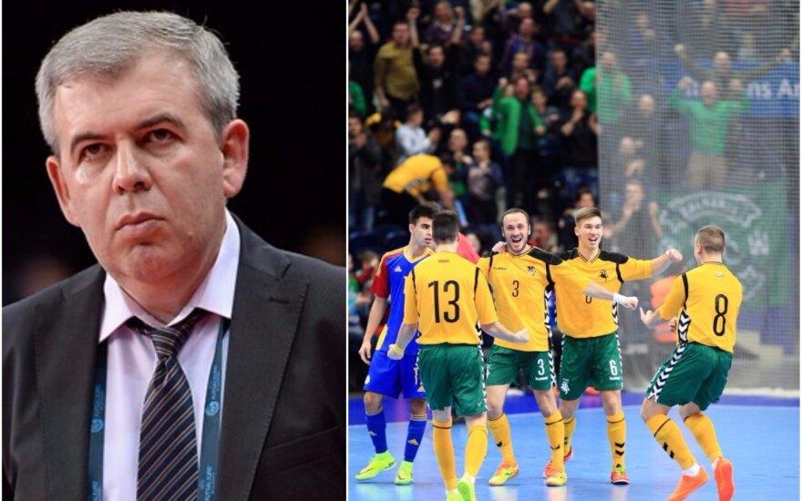 Jevgenas Ryvkinas, Lietuvos salės futbolo rinktinė (UEFA, DELFI nuotr.)