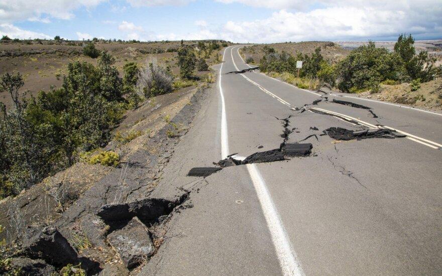 Kosta Rikos pasienio su Panama regioną supurtė stiprus žemės drebėjimas