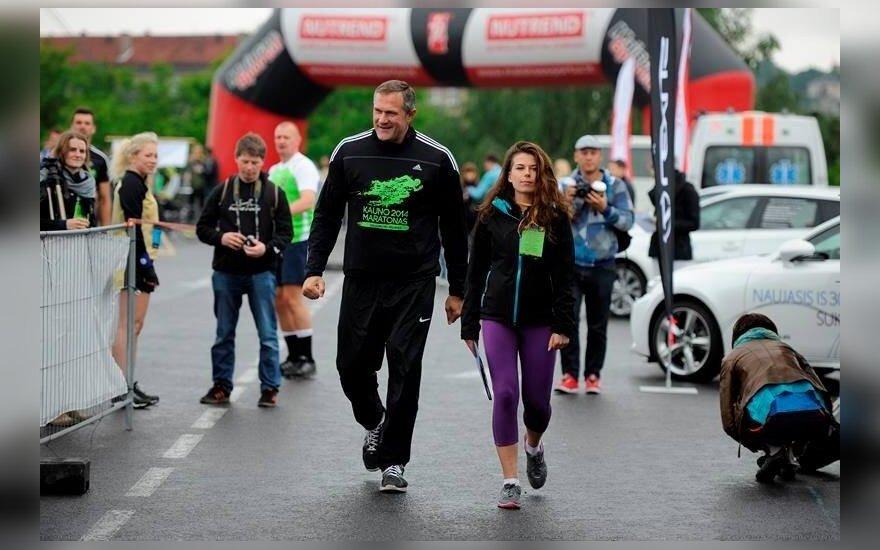 Virgilijus Alekna Kauno maratone